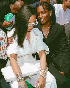 Asap Rocky Rihanna, Lord Pretty Flacko, Rihanna Riri, A$ap Rocky, Bad Gal, Black Couples, Attractive People, Black Love, Dance Music