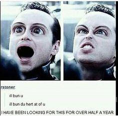 OMG... LOL Sherlock s2