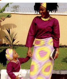 8529769fa7a COM  Women s Sunday look-Chacha Eke Vs Chika Ike. Matching Outfits
