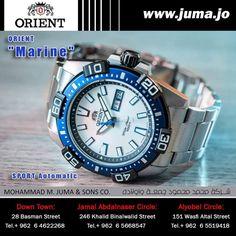 "The new ORIENT ""MARINE"" Sporty Automatic  #orientwatch #orientwatches #wristwatch #MARINE #SPORT #AUTOMATIC #sportY #luxury #fashion #watch #watches #orient #online #juma #jumajordan #jumastore #amman #jordan #jo  http://goo.gl/5JhPQO"