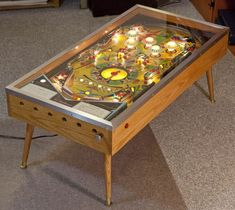 Totally partaaaayyyy!!! xD No man shall remain bored! ~ Pinball coffee table