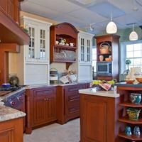 Charming Cherry Kitchen  Ducci Kitchens > Showroom