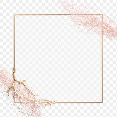 Glitter Frame, Rose Gold Glitter, Backgrounds Free, Photoshop Design, Free Illustrations, Free Stock Photos, Textured Background, Pink And Gold, Free Images