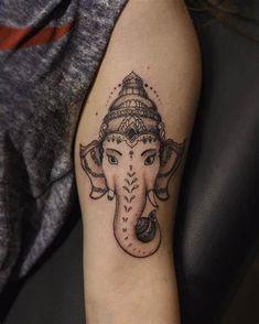 Ganesh Tattoo Tumblr   www.imgkid.com Lotus Tattoo, Ganesha Tattoo Lotus, Tattoo Designs And Meanings, Tattoo Designs Men, Pinterest Tattoo Ideas, Cool Tattoos, Tatoos, Dancing Ganesha, Shri Ganesh