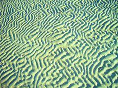 Patterns in the sand, Brighton Beach, Australia by henriette_von_ratzeberg, via Flickr