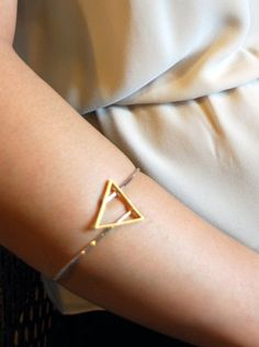 This geometric bangle is perfect for ringing in the new year! www.mooreaseal.com