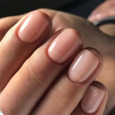 natural nails The Best Nude Nail Polishes For Every Skin Tone, As Told By Celeb Manicurists Neutral Nails, Nude Nails, Acrylic Nails, Pink Nails, Color Nails, Coffin Nails, Blush Nails, White Nails, Natural Nail Polish Color