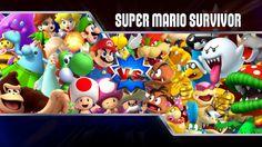 super mario smash bros | Super Mario Survivor #5 – Super Smash Bros. Brawl Characters