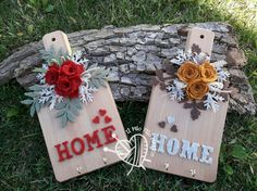 Tagliere decorato Wood Crafts, Diy And Crafts, Wooden Decor, Decoupage, Diy Home Decor, Decoration, Projects To Try, Wall Decor, Create