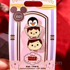 2017 D23 Limited edition Mary Poppins tsum tsum pin