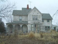 The house is located in Ansley, Nebraska.