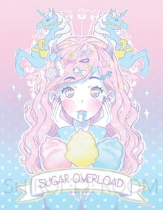 Sugar Overload - Art Print