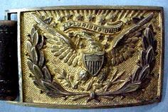 Jeb Stuart Quotes | JEB Stuart's belt plate - from his Federal army officer's uniform used ...