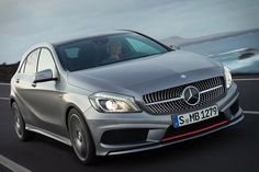 glad to see mercedes getting it.s design act together    2013 a-class