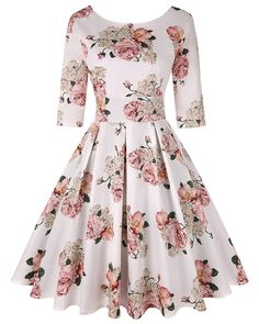 Pin Up Dresses, Stylish Dresses, Pretty Dresses, Beautiful Dresses, Casual Dresses, Short Dresses, Girls Fashion Clothes, Women's Fashion Dresses, Christmas Swing Dress