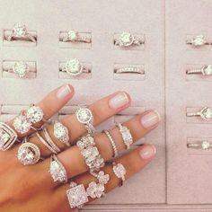 Image de diamond, rings, and jewelry