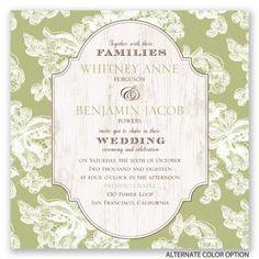 Lace Love Wedding Invitation | David Tutera at Invitations By Dawn