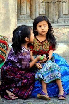 guatemala Amistad Niñas Friendship Girls