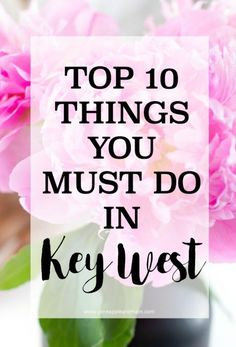 Key West is an is an iconic destination known for its sunshine, clear water, and freedom; a tropical destination where you don't even need a passport! Here are our top 10 things to do in Key West. Florida Hotels, Florida Vacation, Florida Travel, Miami Florida, South Florida, Girls Vacation, Best Vacation Spots, Vacation Ideas, Vacation Destinations