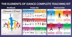 The Elements of Dance Complete Teaching Kit Music Ed, Music Class, Elements Of Dance, Dance Movement, Dance Stuff, Got Game, Dance Teacher, Dance Lessons, Brain Breaks