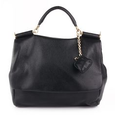 DOLCE: Borsa a Mano black Shoulder — Fashionette.de  DOLCE: Schwarze Schultertasche—Fashionette.de
