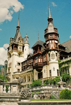 Sinaia, Romania. Amazing inside, if you want fancy interiors this is the place!