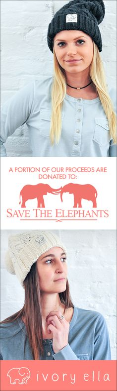 Check out our latest shirts, hats & more. Every purchase supports Save the Elephants.
