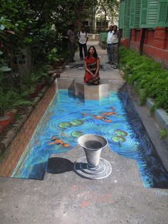 Take your floor to a hole new level. Soo cool! (50 Absolutely Stunning 3D Street Art (Paintings)