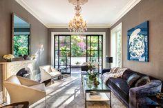 Uma bela e sofisticada casa em NYC