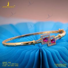 Indo Western collection of bracelets. Get in touch with us on Plain Gold Bangles, Gold Bangles Design, Gold Jewellery Design, Diamond Jewellery, Gold Jewelry Simple, Gold Rings Jewelry, Jewelry Necklaces, Diamond Bracelets, Bangle Bracelet