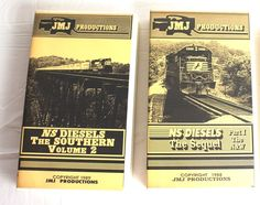 NS Diesels The Sequel N&W - NS Diesels The Southern VHS Trains Railroads Video