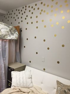 Kate spade inspired dorm room