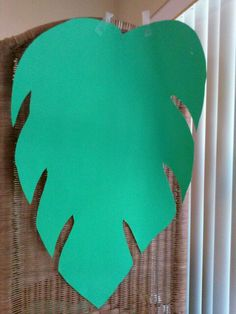 Foyer walls. Use current paper and paint Green. Green construction paper ..... leaf for hawaiian party