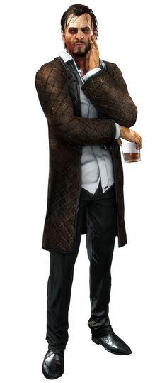 Talos Rucker - Characters & Art - Deus Ex: Mankind Divided