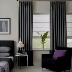 subtle color block for curtains and bedroom decor google image