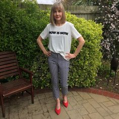 """59 Likes, 19 Comments - Jennifer (@_mysewingdiary) on Instagram: """"Finally finished my @sewoveritlondon ultimate trousers. Struggled with the fit as the gingham…"""""""