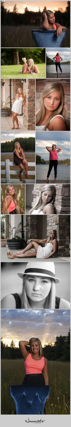 Abbie's Senior Pictures | Oregon City High School. Poses for Senior Girls. Naccarato Photography. Bailey