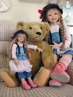 Kleine Lillemore, Johann Sebastian (Heim) Bach, Lillemore Himstedt! Lifelike Dolls, Realistic Dolls, Annette Himstedt, Silicone Baby Dolls, Vinyl Dolls, Pretty Baby, Soft Sculpture, Reborn Dolls, Beautiful Dolls