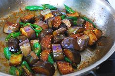 While summer eggplants are still abundant, I wanted to share this very easy but flavorful side dish. Thanks to my container garden, I've been enjoying this dish quite a bit this summer. Previously I posted another one of my favorite eggplant recipes called gaji namul, which is a steamed eggplant side dish. Here, the eggplants …