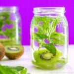 Kiwi and Mint Infused Water Recipe + 5 Tips for perfect Infused Water