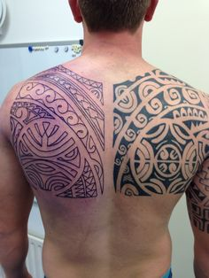 In progress ... Polynesian inspired backpiece