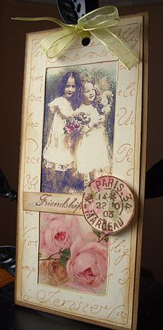 vintage, could do this with my birthday picture