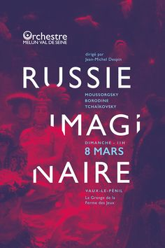 The Russian imaginary - Poster design on Behance
