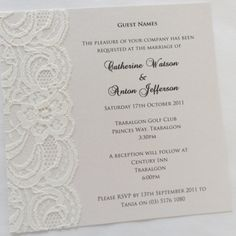 As well as making it easier for you putting an RSVP card in your