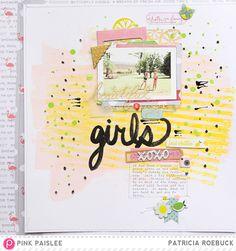 Style File @pinkpaislee @paroe #pinkpaislee #ppcitrusbliss #scrapbooking