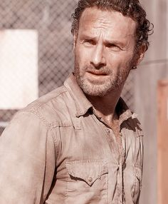 When he is sweaty and dirty. | 56 Situations Where Andrew Lincoln Looks Absolutely Charming