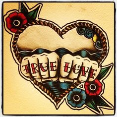 True Love tattoo flash. #tattoo #tattoos #ink