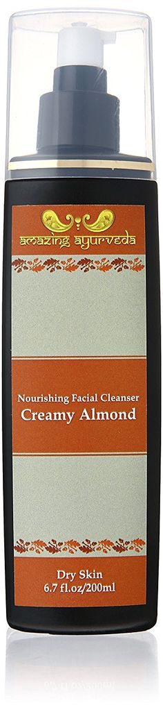 Amazing Ayurveda Refining Facial Cleanser, Creamy Almond, 6.7 Fluid Ounce -- Awesome product. Click the image : Cleansers