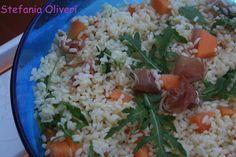 insalata di riso prosciutto crudo e melone