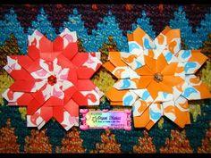 My last video tutorial........Learn how to make this beautiful mandala designed by Carla Onishi at.......Aprende a hacer esta hermosa mandala diseniada por Carla Onishi en.......http://origamimaniacs.blogspot.jp/2014/02/mandala-nice-by-carla-onishi.html